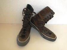 Converse All Star Chucks Sneaker Turnschuhe High Taylor Leder Braun Gr. 4,5 / 37