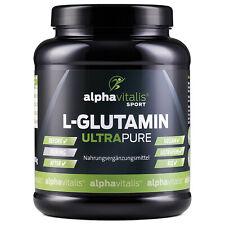 Alphavitalis L-Glutamin ULTRAPURE Pulver vegan hochdosiert Aminosäuren Amino
