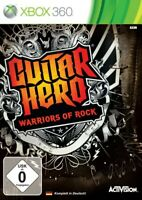 Microsoft Xbox 360 - Guitar Hero: Warriors of Rock nur Software DE/EN mit OVP