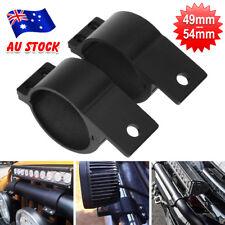 2X Bullbar Mounting Bracket Clamp For LED Light Bar HID Antenna ARB Mounts Black
