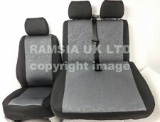 RENAULT TRAFIC Vauxhall Vivaro 2001-2013 Nero Bentley Van SEAT COVER A5 NO LOGO