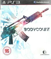 Bodycount Sony Playstation 3 PS3 15+ FPS Shooter Game