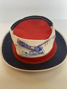 United Hatters Cap Millinery Bicentennial 1976 Hat USA Union Size 7 1/8 Eagle