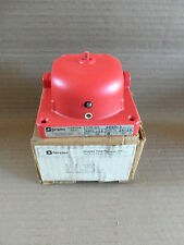 New in Box Simplex Vibrating Bell Red 624-634 Fire Alarm