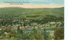 NORTH ADAMS,MASSACHUSETTS-HOOSAC RANGE/BIRD'S EYE VIEW-1915-(MASS-N)