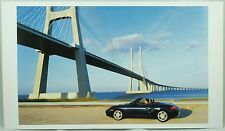 Porsche Black Boxster Car Photo Print Sportscar Poster