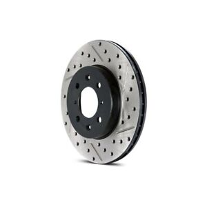 StopTech 227.65113L Select Sport Drilled /& Slotted Rotor Right