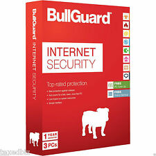 Bullguard Internet Security 3 PC 1 ANNO 5GB (win10) sia installazione che rinnov