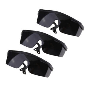 3Pcs Welding Glasses Safety Eye Labor Protective Glasses wide Lens Goggles