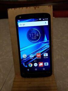 Motorola Droid Turbo 2 XT1585, Verizon, Black, PLEASE READ