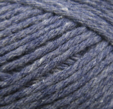 Sirdar SIMPLY RECYCLED ARAN. 40 DUSK. 50g ball. COTTON Aran knitting yarn.