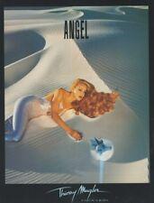 PUBLICITÉ PAPIER  -  ADVERTISING PAPER ANGEL THIERRY MUGLER