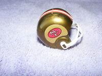 Vintage 60's 70's Gumball Machine Mini Football Helmet San Francisco 49 ers