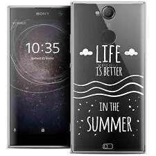 """Coque Crystal Gel Pour Sony Xperia XA2 (5.2"""") Souple Summer Life's Better"""