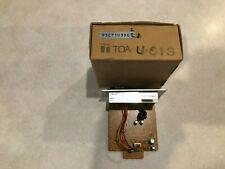 Toa Electronics U-61S - Unbalanced Line-Level Input Module with Compressor