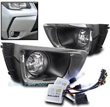 BUMPER DRIVING FOG LIGHTS LAMP SMOKE W//8000K HID+HARNESS FOR 2014-2016 FORESTER