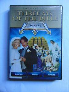 Three M's Of The Bible - Pastor John Hagee - Rare 3 DVD set - FREE POST