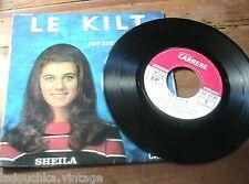 FRENCH 1960s POP BEAT MUSIC 45 RPM VINYL RECORD~FAMOUS YE YE MOD SINGER : SHEILA