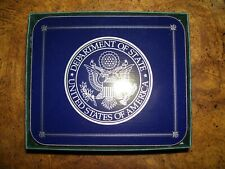 New listing Set of 6 Jason Us Department of State Seal Coasters - New in Box Nib