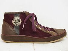 TOMMY HILFIGER ❤ Damen High Top Sneakers Gr. 37 Leder Shoes Flats Schnürschuhe