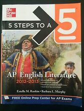 5 Steps To A 5, AP English Literature 2012-2013