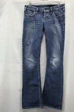 Silver Jeans PIONEER Womens Jeans Size 26/33 Darkish Wash Excellent Used Cond