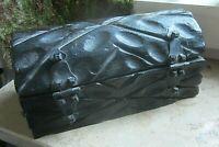 ✿ wuchtige holz truhe schmuck schachtel beschnitzt spanien ca 70er 23x11x12 1 kg