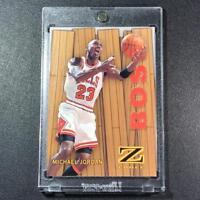 MICHAEL JORDAN 1997 SKYBOX Z-FORCE #10 BOSS EMBOSSED INSERT CHICAGO BULLS NBA MJ