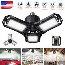Deformable LED Garage Light Super Bright Shop Ceiling Lights Bulb 3600LM 6500K