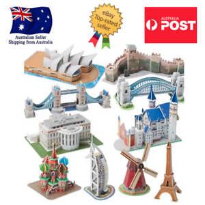 Kids Toddlers Puzzle Intelligence 3D Puzzle Science Education Landscape Au Stock