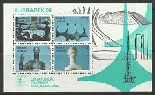 BRAZIL. 1990. Lubrapex 90 Miniature Sheet. SG: MS2449. Mint Never Hinged