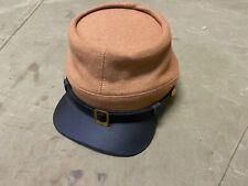 New listing 27D Civil War Csa Confederate Infantry Kepi Forage Cap Hat-2Xlarge