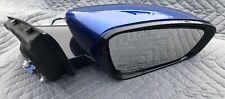 2015 16 17 CHRYSLER 200 Sdn Passenger Side Power Right (Door Mirror) Blue OEM