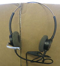 Plantronics H61 H61/A Supra Duo Binaural Voice Tube Office Headset
