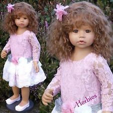 Masterpiece Dolls Cassi Light Brown Hair, Brown Eyes, Monka Levenig, 34-inches