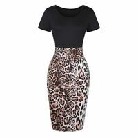 Pencil Formal Bodycon Women's Sheath Business Office Dresses Elegant Dress