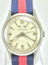 Ultra rare Favre Leuba -Jaeger Le Coultre Calendar Datograph Cal. 1256