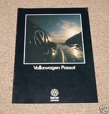 Volkswagen Passat Mk3 1988 What Car? Autocar Launch Supplement Brochure