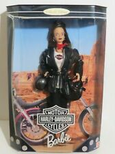 Harley Davidson Barbie Brunette Collector Edition No.22256 NIB NRFB