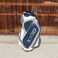 "Dunlop XXIO Replica Staff Bag(9.5""/3.99kg) White/Navy #653427111486 Bag"
