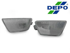 DEPO Clear Front Bumper Side Marker Lights For 2011-2015 Chevrolet / Chevy Cruze