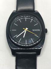 "Working Men's Black Acrylic Nixon Minimal ""The Time Teller"" Watch CT"
