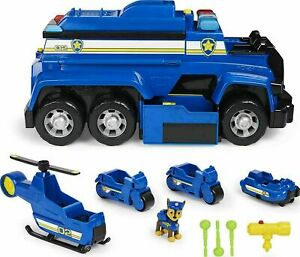 Paw Patrol Chase's Ultimate Police Cruiser With Lights And Sounds 5-in-1 Vehicle