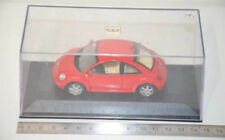 10 ) Minichamps VW New Beetle 1998 - 1:43 - in rot