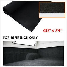40''x79'' Hight Quality Automotive Carpet Black Van & Car interior lining carpet