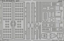 Eduard Accessories 32321 - 1:32 B-25 Bomb Bay For Hk Models - Ätzsatz - Neu