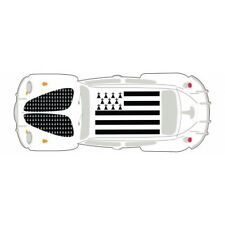 Autocollant Coccinelle voiture dos Bretagne Breizh 2sticker adhesif 17 cm