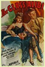THE GLASS ALIBI 1946 RARE FILM NOIR  CRIME DRAMA ON DVD