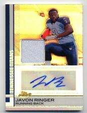 2009 Topps Finest JAVON RINGER Rookie Card RC AUTO AUTOGRAPH PATCH /50 REFRACTOR