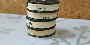 4.films AMATEUR@en 9,5mm@ PATHE BABY1929:1930@plage.manif.batiment.bobine 5 cm